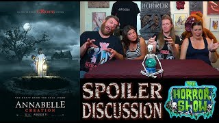 """""""Annabelle: Creation"""" 2017 Horror Movie Spoiler Review and Discussion - The Horror Show"""