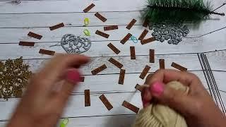 Вязание спицами детского носочка 1часть