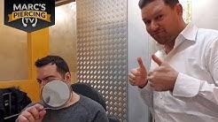 💉 Ohrloch Piercing 💉 für echte Kerle 💉 Marc's Piercing TV
