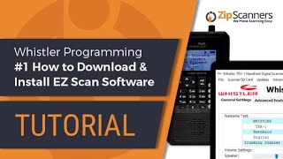 whistler police scanner programming 1 how to download install ez scan software
