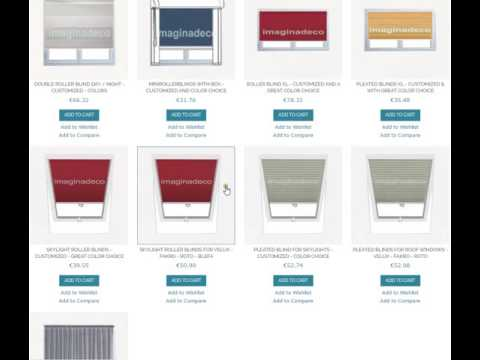 imaginadeco   how to select your product of customized blinds and curtains