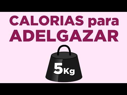 ¿Cuántas calorías quemar para adelgazar 5 kilos?