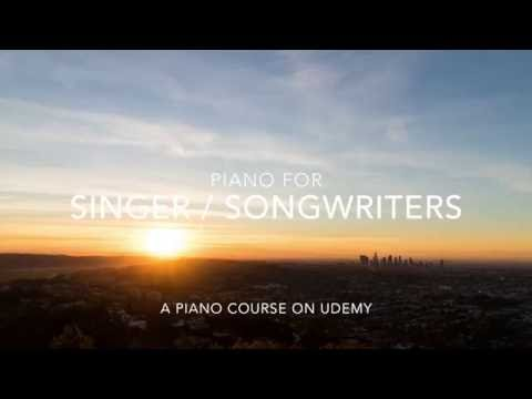 (Coupon Code) Piano for Singer/Songwriters | Write Songs and Perform Live!