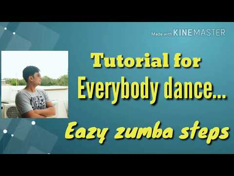 Easy zumba steps | Zumba tutorial | Zumba fitness | Everybody dance