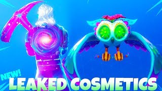 Nouveau! LEAKED BACK BLINGS/GLIDERS! SHOWCASE (New Galaxy Set!) Fortnite Bataille Royale