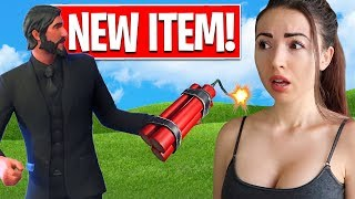 DYNAMITE IN FORTNITE!! New Item + Wild West Game Mode! (Fortnite Battle Royale)