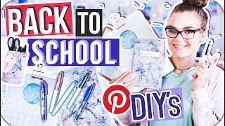 4 BACK TO SCHOOL DIY's - Tipps zum Organisieren & Lernen! // I'mJette