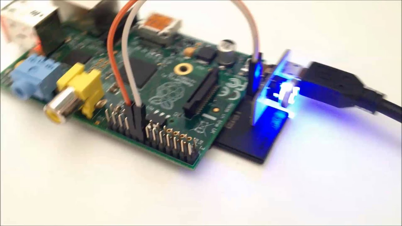 Illuminated Led Power Button Switch For Raspberry Pi By