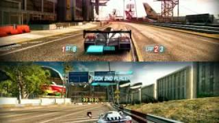 Split Second 2 Player Splitscreen Gameplay PC on Hard Mode