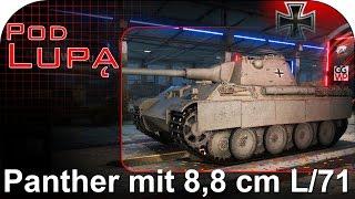 panther mit 8 8 cm l 71 pod lupą world of tanks