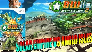 Solar Empire vs Anglo Isles Nintendo Wii RTS Game Battalion Wars 2