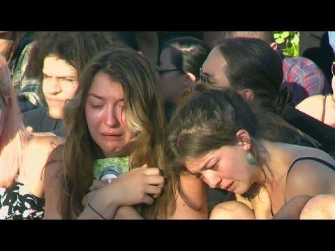 Portland'da ırkçı saldırının kurbanları anıldı