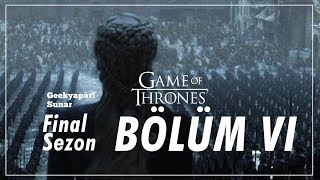 """BİTTİ AMA?"" Game of Thrones // Final Sezon - Bölüm VI İnceleme feat. JAHREIN"