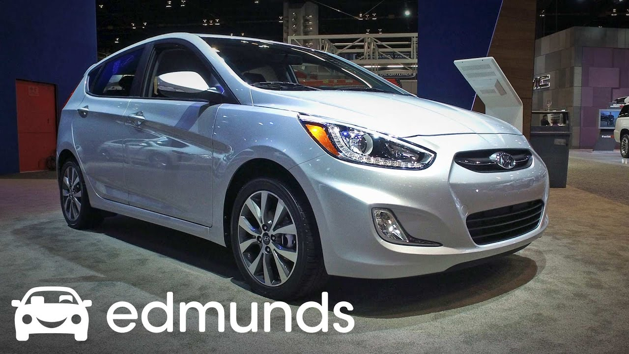 Hyundai Accent Review Features Rundown Edmunds YouTube - Edmunds new car dealer invoice