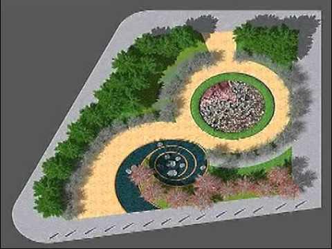 Curso photoshop para paisajistas formacion a distancia for Planos de jardines
