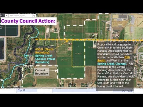 Wasatch County- General Plan boundary vote 5-16-18