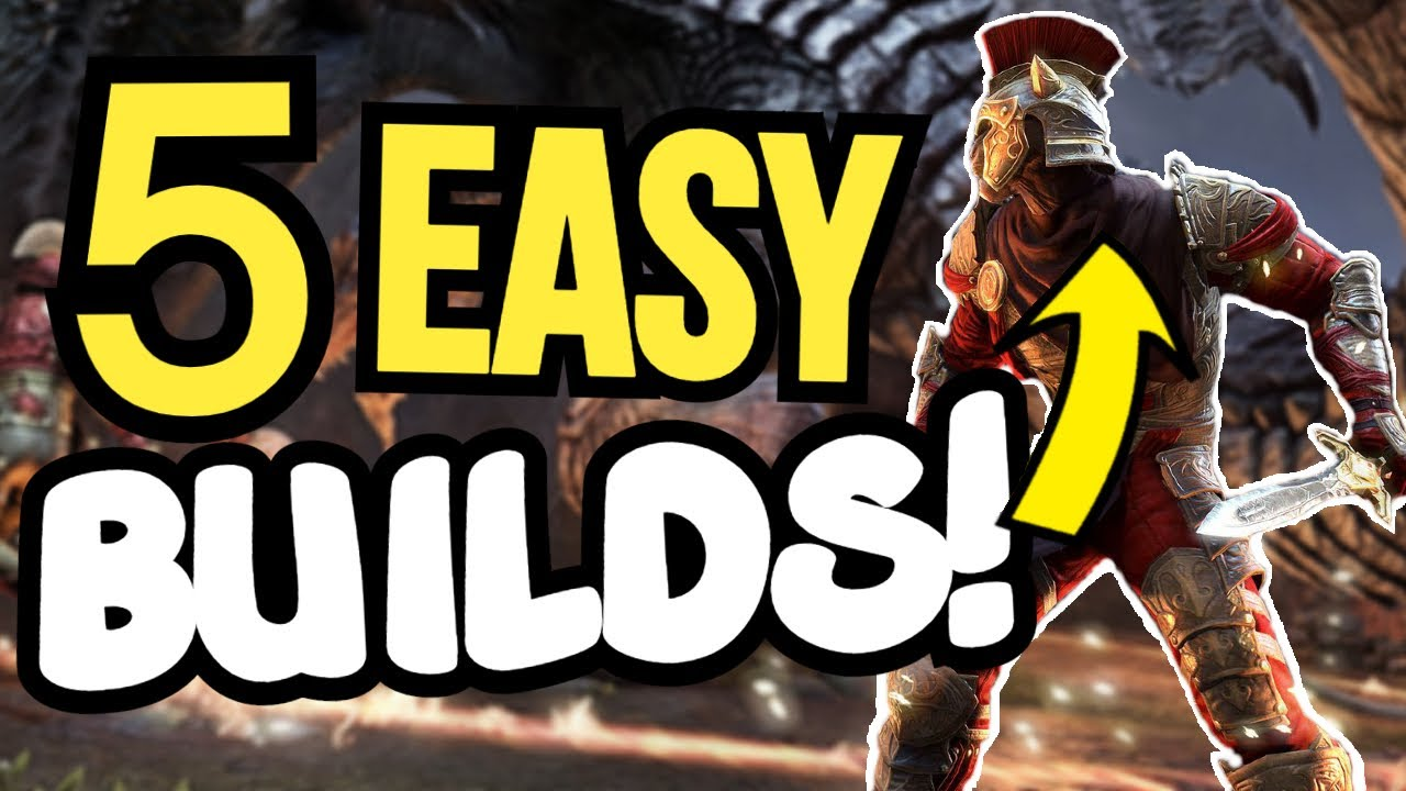 TOP 5 EASY Builds For ESO In 2020!! 🏆 The Elder Scrolls Online BEST Builds For Beginners!