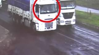 Kazadan sonra şoförler direksiyonda yer değiştirdi