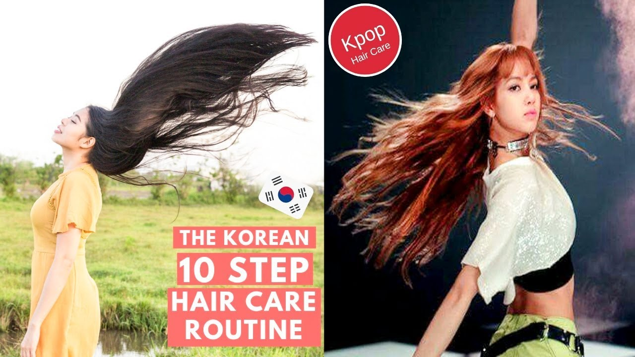 10 Steps To Korean Hair Care Routine How To Have Kpop Hair Beautyklove Youtube