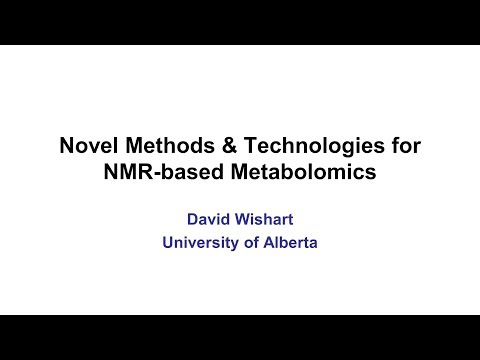 Lecture 6: Novel NMR Methods