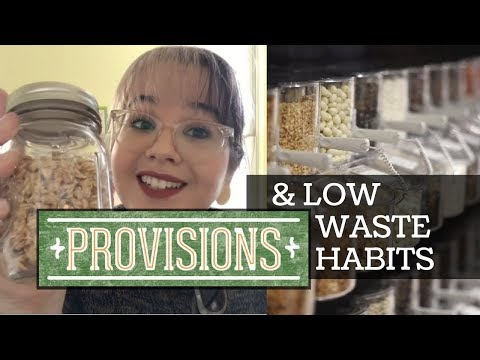 Provisions Grocery - Low Waste Shopping! Kitchen Tour!