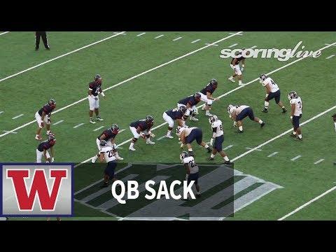ScoringLive: Waianae vs. Saint Louis - Kanai Mauga, quarterback sack