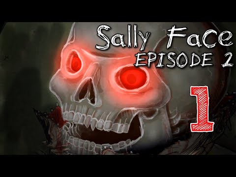 Sally Face Episode Two - Ponies & Spookys (ALL SECRETS RUN), Manly Let's Play [ 1 ]