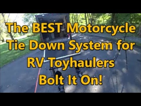 The Best Motorcycle Tie Down System For