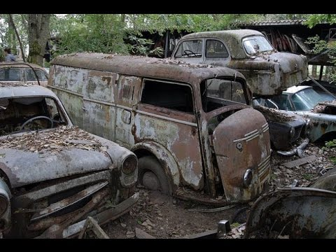 Abandoned Car Forest Found Army Truck Youtube