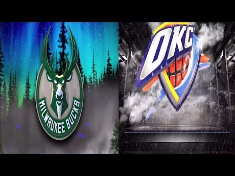 EA Sports NBA Live 16 Milwaukee Bucks v Oklahoma City Thunder