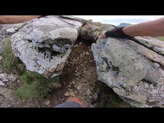 Aventuri pe bicicleta - Urcare si peisaj prin masivul Ceahlău