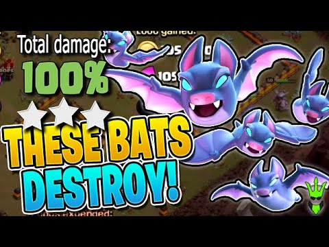 BATS Are DESTROYING Town Hall 11 Right Now! - Clash Of Clans