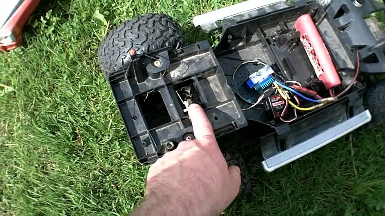 Rc New Bright Hummer H3 Project Youtube