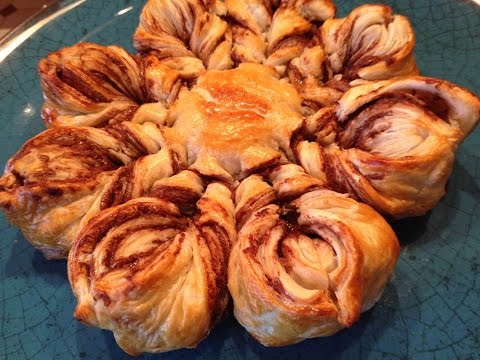 Persia's Nutella Puff Pastry - Very Easy And Quick
