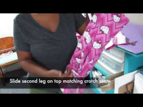 DIY Pajama Pants Step-by-Step Tutorial