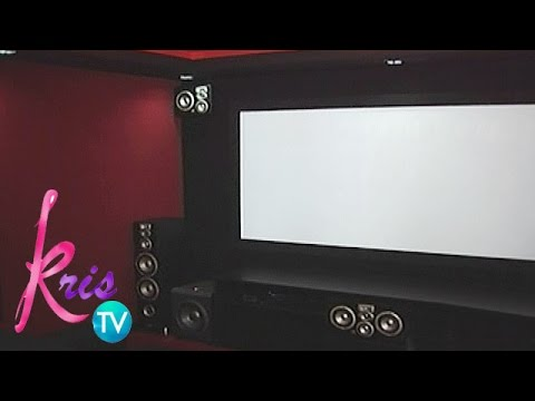 Kris TV: Team Kramer's amazing home theater