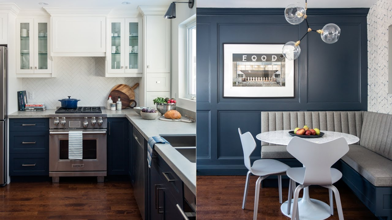 Room Tour: Bright & Blue Kitchen Makeover