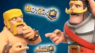 СТРИМ ИГРЫ КЛЕШ РОЯЛЬ || Clash Royale от BOYZiK ( Бойзик )