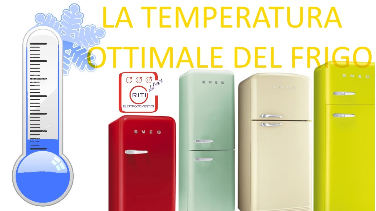 la temperatura ottimale del frigo i tecnoconsigli puntata 7 youtube. Black Bedroom Furniture Sets. Home Design Ideas