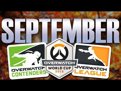 This Month in Competitive Overwatch: September 2018 thumbnail