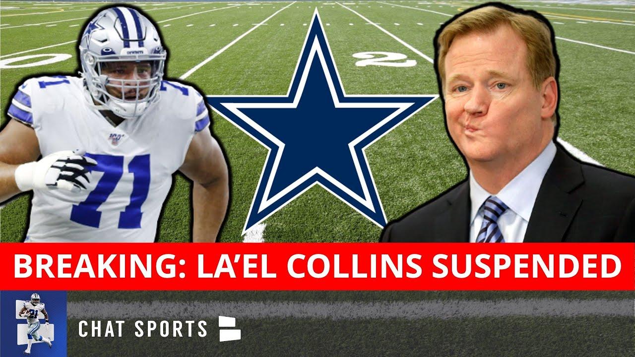 Did Cowboys' La'el Collins Get Suspended for Missing 7 Drug Tests?