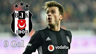 Adem Ljajic Beşiktaş'da Bütün Golleri -Türkçe Spiker