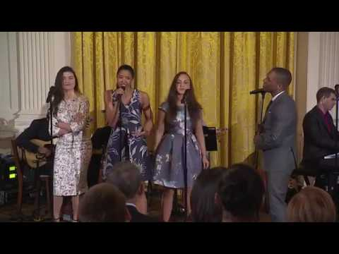 Hamilt At The White House The Schuyler Sisters