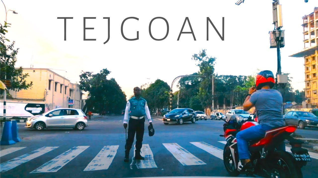 Driving Tejgaon (তেজগাঁও) Bangladesh - Dhaka City 4K