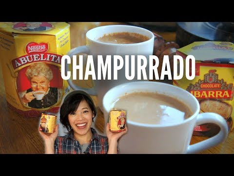 Abuelita VS. Ibarra CHAMPURRADO TASTE TEST | Mexican Hot Chocolate Recipe
