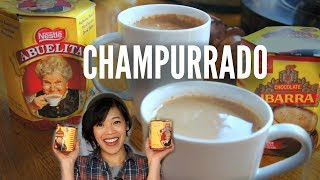 Abuelita VS. Ibarra CHAMPURRADO TASTE TEST | Mexican Hot Chocolate Recipe