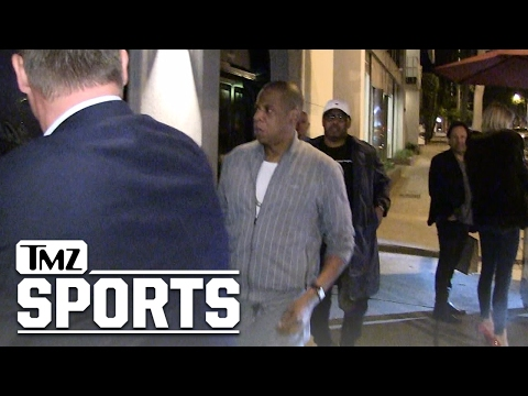 JAY Z JETS TO LA WITH KEVIN HART  After NBA Finals  TMZ Sports