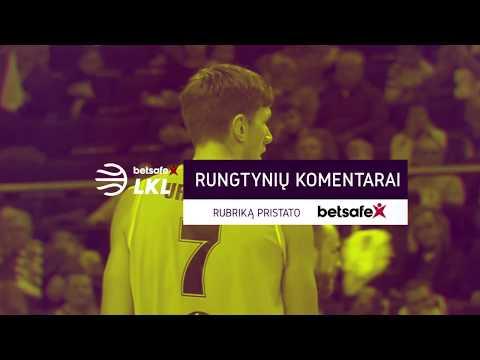 """""""Betsafe–LKL"""" rungtynių komentarai: """"Šiauliai"""" - """"Lietuvos Rytas"""" [2017-10-21]"""