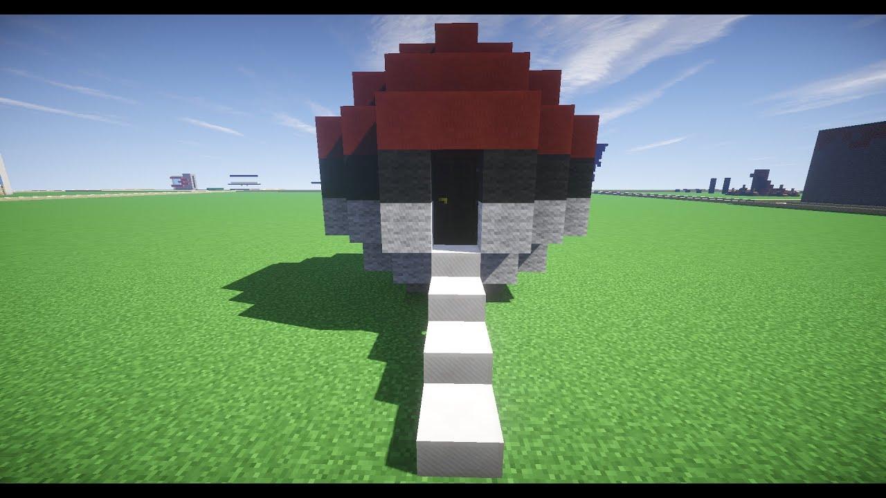 How to Build a PokeBall House (Pokemon GO) - Youube - ^