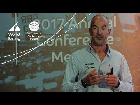 Damian Foxall keynote speech at World Sailing Sustainability Agenda 2030 Forum